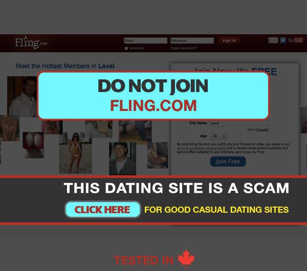 Scam adult dating sites