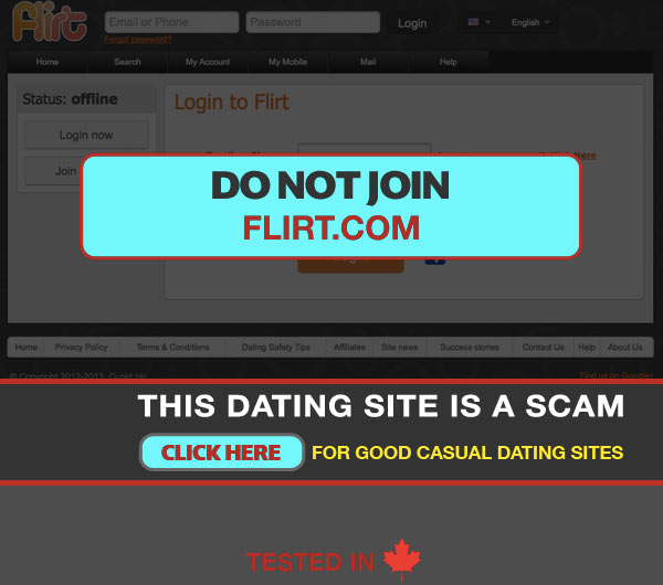 Flirt dating site free in usa