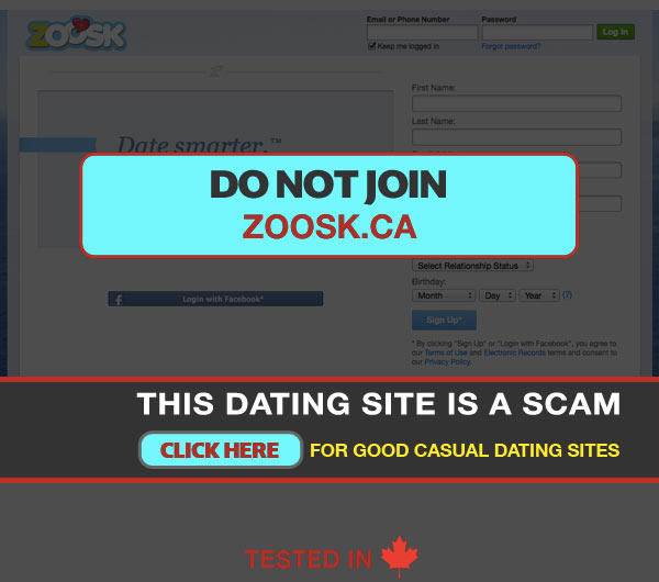 Person on too many dating websites